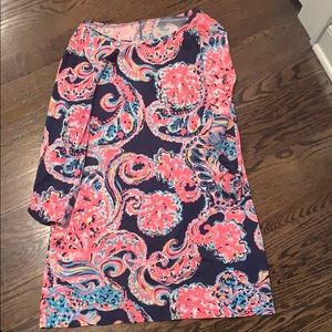 Lilly Pulitzer printed shift dress, Size M